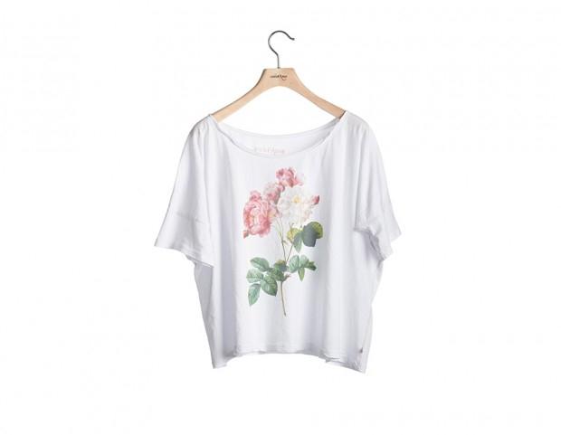 t-shirt-in-cotone-stampa-fiore-ottodame-620x481