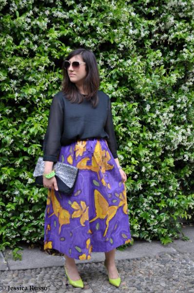 trend midi skirt
