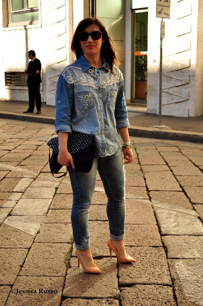 total look jeans