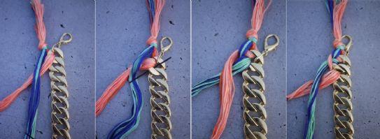 bracciale con catena, idee natale, idee regalo low cost