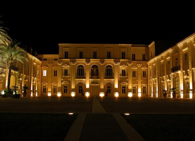 Belvedere di San Leucio notte